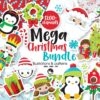 1200 Mega christmas bundle graphics