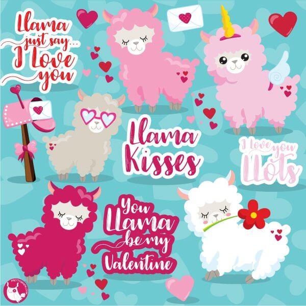 llamas #llama #animals #ftestickers - Llama Clipart Free, HD Png Download -  kindpng