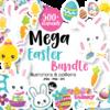 mega easter bundle graphics