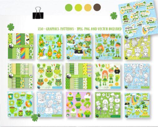 St. Patrick bundle graphic