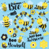Bee awesome clipart