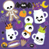 Halloween treats clipart graphics