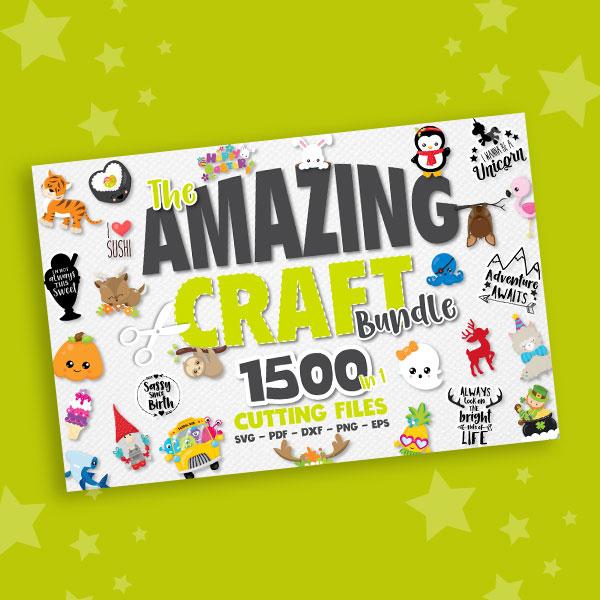 Amazing Craft Bundle 1500in1 Svg 40 Off Prettygrafik Store