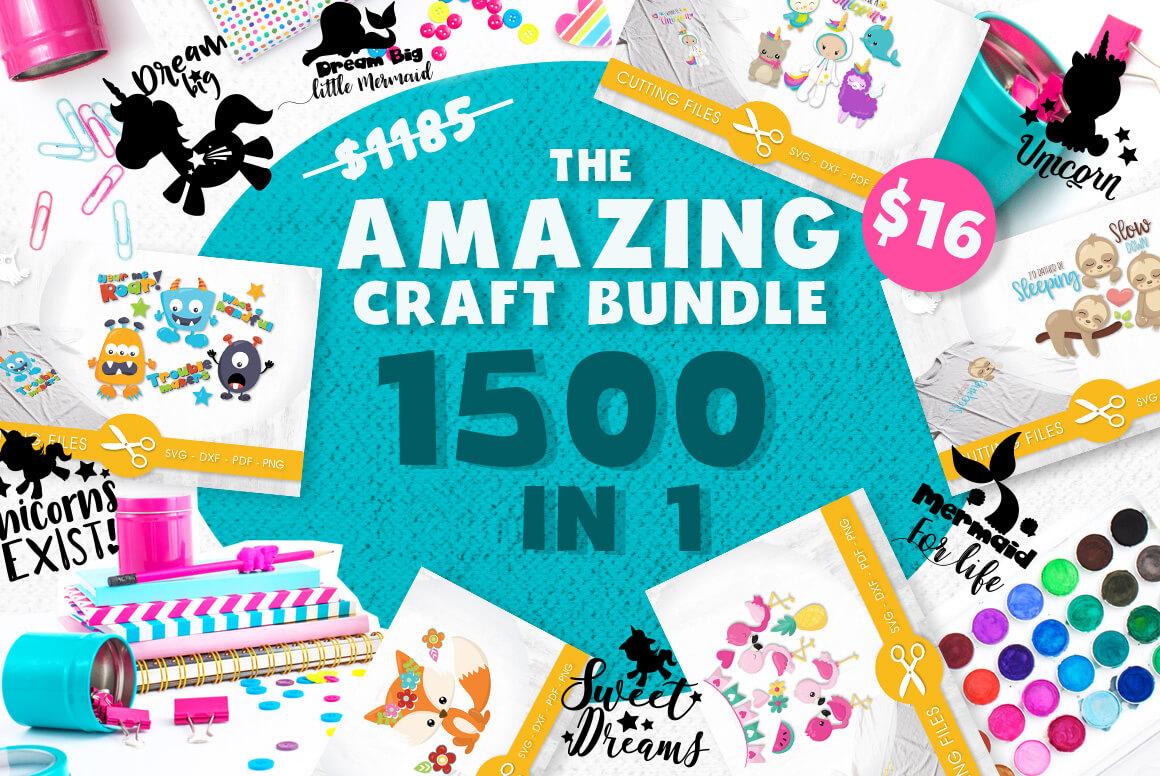 amazing craft bundle graphics