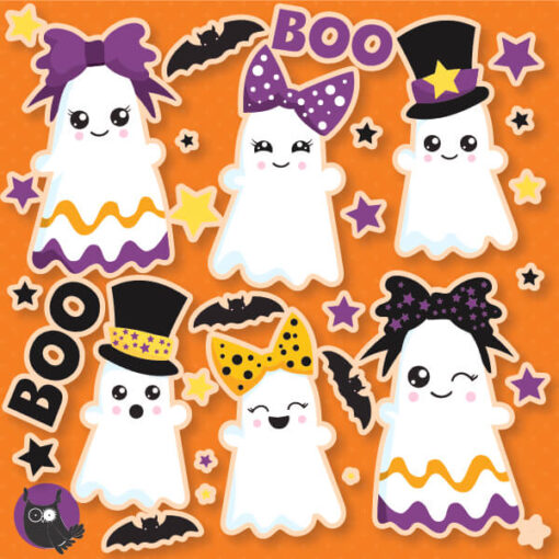 Boo ghost clipart