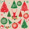 Christmas Trees Clipart