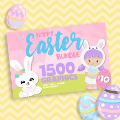 Easter bunny bundle designs