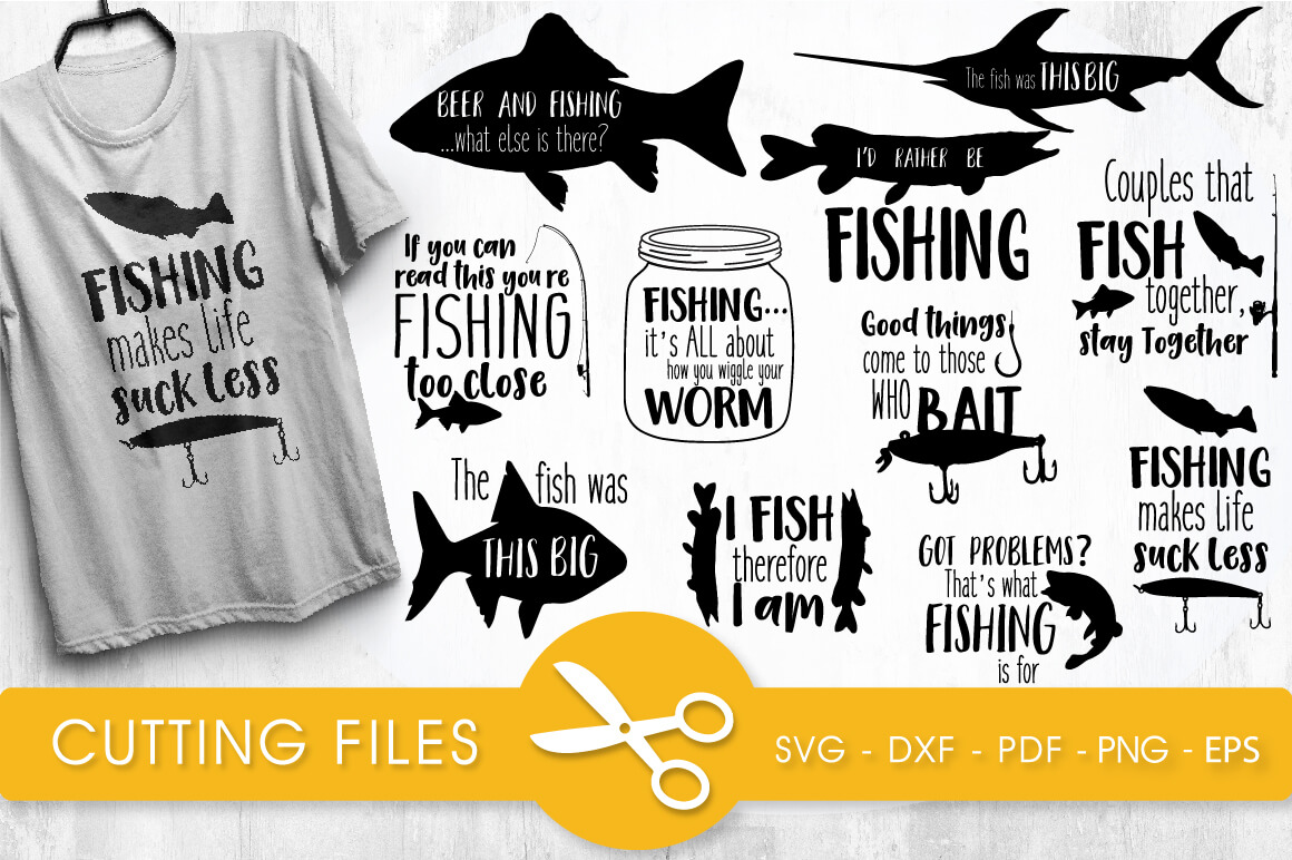 Download Svg Cut File Fishing Bundle Svg Png Eps Dxf Prettygrafik Store
