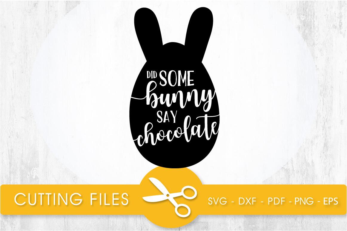 Download Easter Bunny Svg Dxf Pdf Png Cut File Image