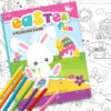 easter coloring book clipart