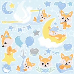 baby boy clipart graphic