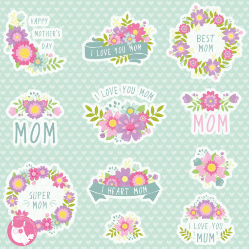 mom love quotes clipart