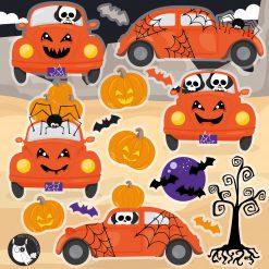 Halloween Beetle clipart